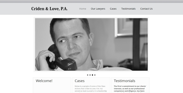 CridenLove.com | Michael Criden - Law Firm
