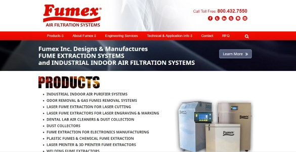 Fumex-Inc | Air Filtration
