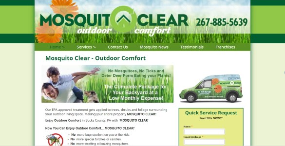 Mosquito Clear - Outdoor Comfort | (267) 885-5639 | PA